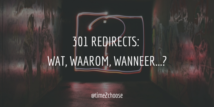 301 redirects Time2Choose seo